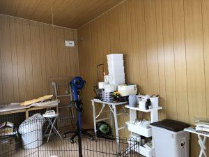 小屋 内装 ペットサロン
